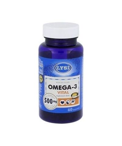OMEGA-3 VITAL 500mg x 60 kapsułek