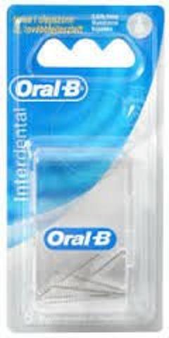 ORAL-B końcówki wymienne Interdental x 6 sztuk