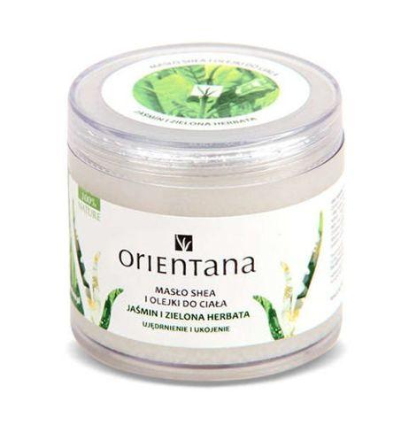 ORIENTANA Masło Shea i olejki Jaśmin i Zielona herbata 100g