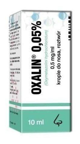 OXALIN 0,05% krople 10ml