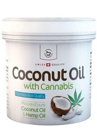 Olej kokosowy z konopiami 250ml