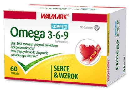 Omega 3-6-9 kapsułki 500mg x 60 sztuk