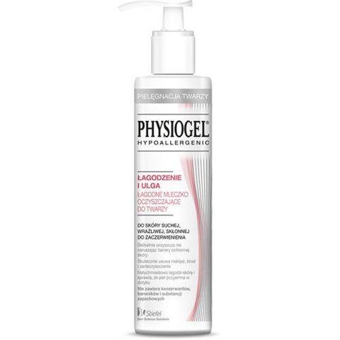 Physiogel Łagodzenie i Ulga łagodne mleczko oczyszczające do twarzy 200ml