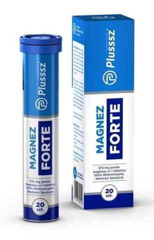 Plusssz Magnez Forte x 20 tabletek musujących