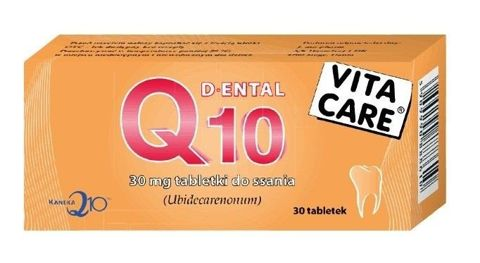 Q10 DENTAL VITA CARE 30mg x 30 tabletek do ssania