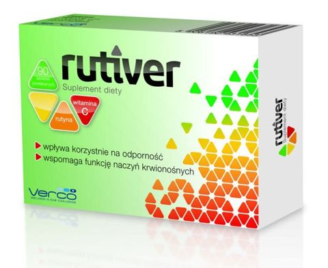 RUTIVER x 90 tabletek