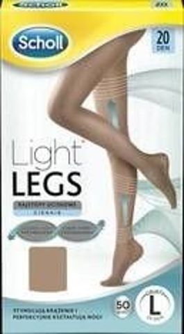 SCHOLL Light Legs Rajstopy uciskowe rozmiar L cieliste x 1 sztuka