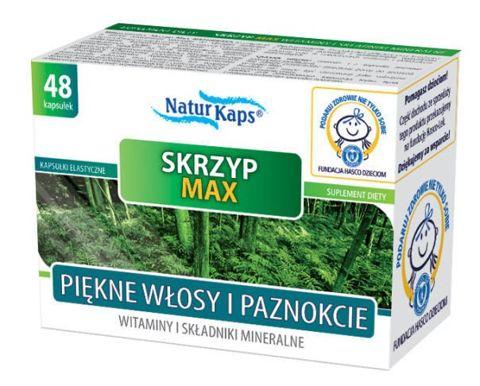 SKRZYP MAX Witaminy i minerały Naturkaps x 48 kapsułek