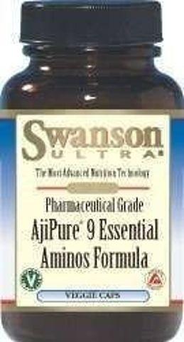 SWANSON AjiPure Kompleks 9 istotnych aminokwasów x 60 kapsułek