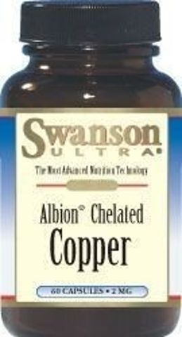 SWANSON Albion Chelat Miedzi 2mg x 60 kapsułek
