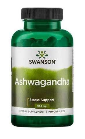 SWANSON Ashwagandha 450mg x 100 kapsułek
