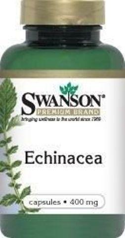 SWANSON Echinacea 400mg x 100 kapsułek