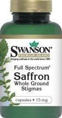 SWANSON Full Spectrum Szafran 15mg x 60 kapsułek