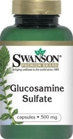SWANSON Glukozamina 500mg x 250 kapsułek