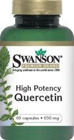 SWANSON Kwercetyna (Quercetin) 475mg x 60 kapsułek