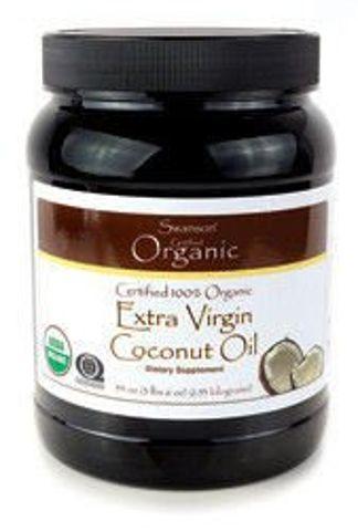 SWANSON Olej z kokosa organiczny 454g