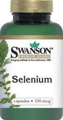 SWANSON Selen Select 100mcg x 200 kapsułek