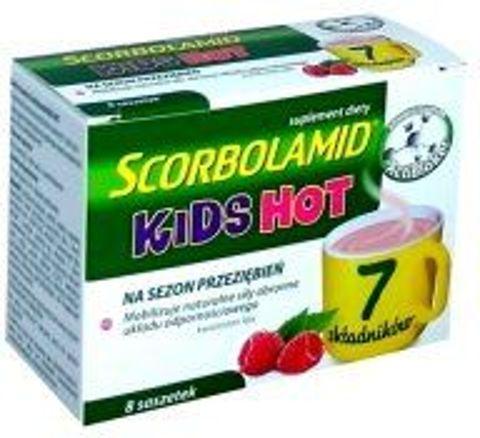 Scorbolamid Kids Hot x 8 saszetek