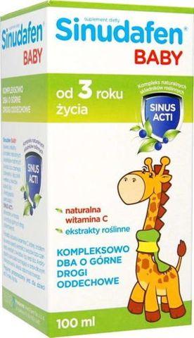 Sinudafen baby syrop dla dzieci 100ml