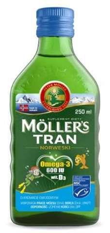 TRAN Mollers owocowy 250ml