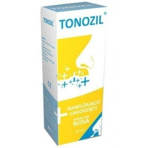 Tonozil Spray nawilżająco-łagodzący do nosa 20ml