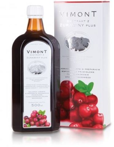 VIMONT ŻURAWINA Plus płyn 500ml