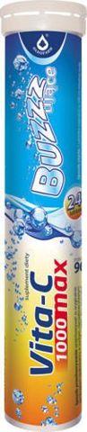 VITA-C MAX BUZZZUJACE 1000mg x 24 tabletki musujące