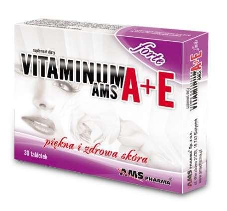 VITAMINUM A+E  FORTE x 30 tabletek