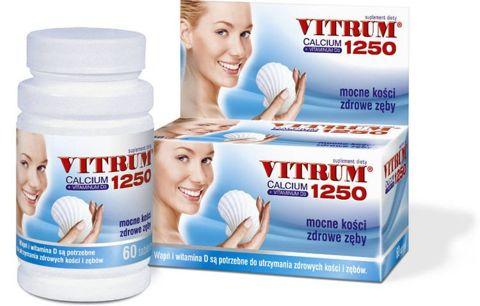 VITRUM Calcium 1250 + Vit. D3 x 60 tabl.