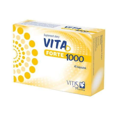 Vita D Forte 1000 x 45 kapsułek