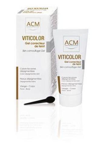 Viticolor żel barwiący do skóry z plamami depigmentacyjnymi 50ml