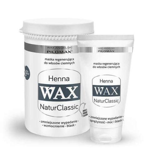 WAX Pilomax NaturClassic Henna maska regenerująca do włosów ciemnych 70g