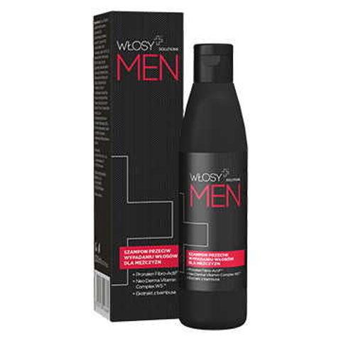 WŁOSY+ Solutions Men szampon przeciw wypadaniu włosów 200ml