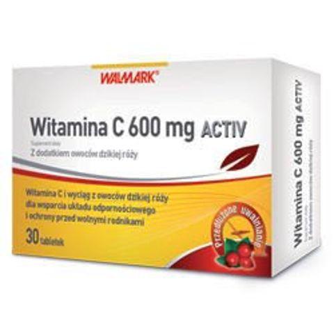 Witamina C 0,6 Activ x 30 tabletek