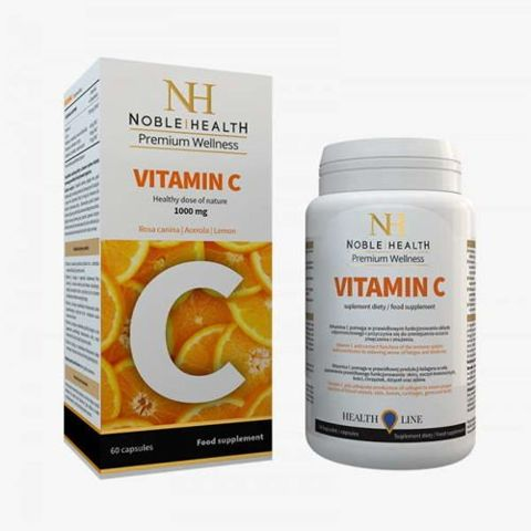 Witamina C 1000mg Noble Health x 60 kapsułek