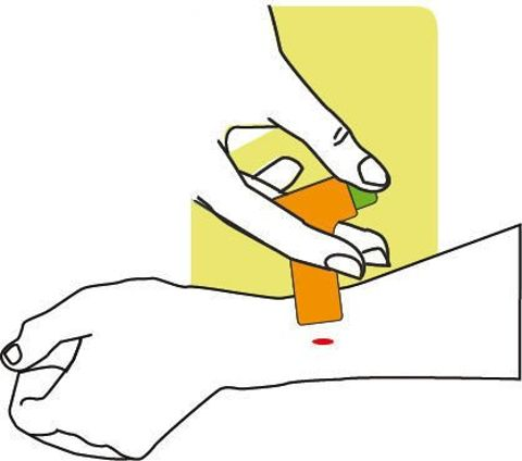 ZAP-IT! Urządzenie niewelujące uczucie swędzenia po ukąszeniu