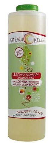Żel do kąpieli i pod prysznic z aloesem o zapachu kwiatowym 500ml