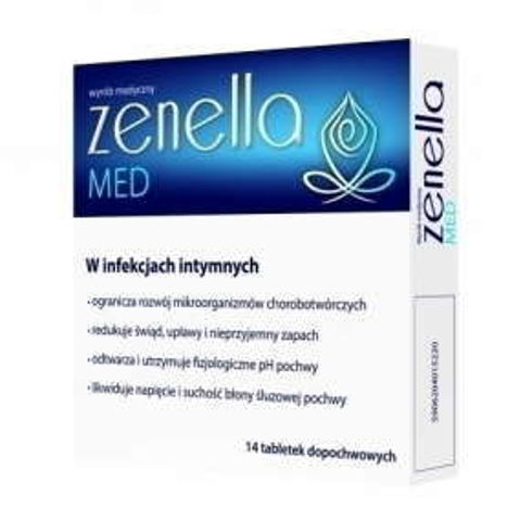 Zenella Med x 14 tabletek dopochwowych