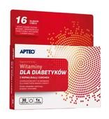 APTEO Witaminy dla diabetyków x 30 tabletek - data ważności 30-09-2019