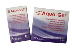 AQUA-GEL Opatrunek hydrożelowy okrągły średnica 5cm x 1szt