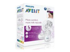 AVENT Philips Laktator ręczny Natural 330/20 z butelką 125ml