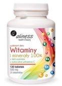 Aliness Witaminy i minerały 100% x 120 tabletek