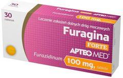 Apteo Med Furagina Forte 0,1g x 30 tabletek