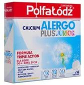 CALCIUM ALERGO PLUS JUNIOR x 16 tabletek musujących