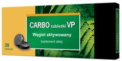 CARBO Medicinalis 0,15 x 20 tabletek