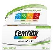 CENTRUM Kompletne od A do Z Formuła multiefekt x 100 tabletek