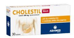 CHOLESTIL Max 0,2g x 30 tabletek