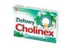 CHOLINEX Ziołowy x 16 pastylek o smaku mentolu i eukaliptusa