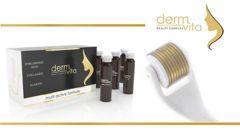 DERMVITA x 12 ampułek x 2 opakowania (DUOPACK) + DermaRoller Gratis