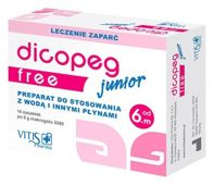 Dicopeg Junior Free x 14 saszetek